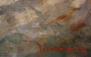 Nicolae IRIMIE, Winter Landscape, 1933 [3]