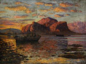 Rosario Di FAZIO, Apus marin la Palermo, 19450