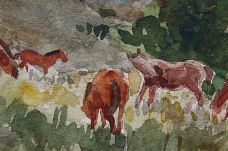 ANDRÁSY Zoltán, Cai pe deal, 1952 [1]