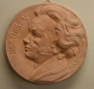 C. RÜFFER, Medalie comemorativă - Beethoven, 19400