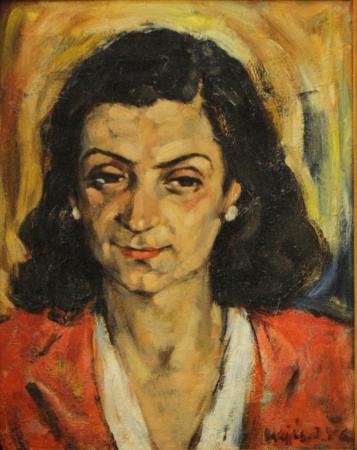 HAJÓS Imre László, Portretul soției0