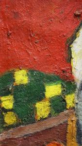 URSZINYI Mária, Pictoriță în atelier3