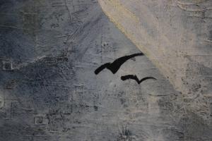 BIRÓ I. Géza, Peisaj cu vilă și păsări2