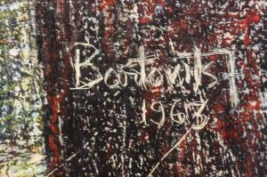 BARTOVICS  Jószef, Natură statică, 19632