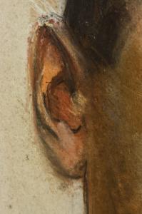 Corneliu BABA, Portret  de medic militar, 19402