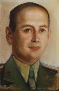 Corneliu BABA, Portret  de medic militar, 19400