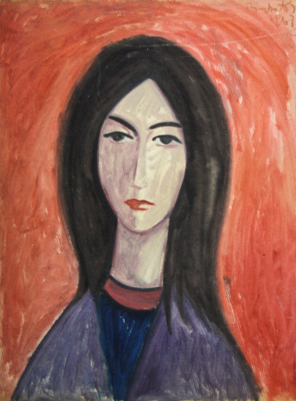 BARTOVICS  József, Portet de femeie, 19680