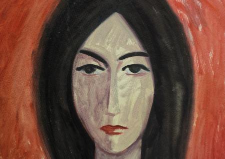BARTOVICS  József, Portet de femeie, 19681