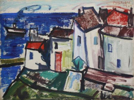 BARTOVICS József, Case în port, 19670
