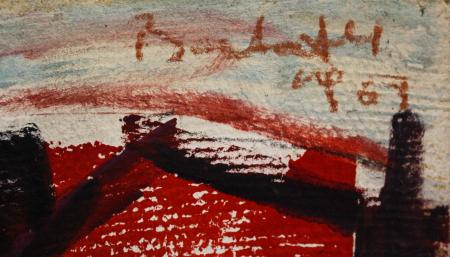 BARTOVICS József, Case în port, 19672