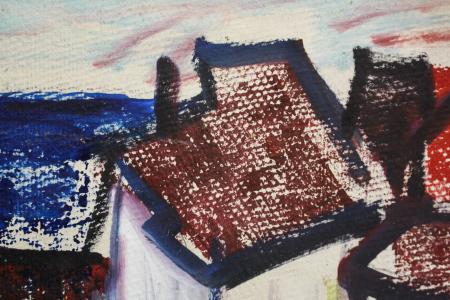 BARTOVICS József, Case în port, 19671