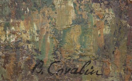Brăduț COVALIU, Peisaj din Leordeni [2]