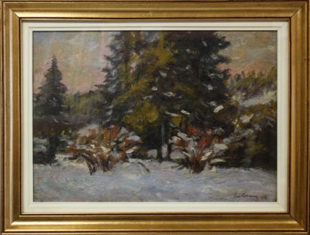 Emil CORNEA, Peisaj din Borsec,1956 [4]