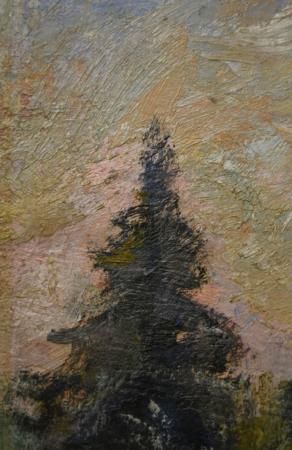 Emil CORNEA, Peisaj din Borsec,1956 [1]