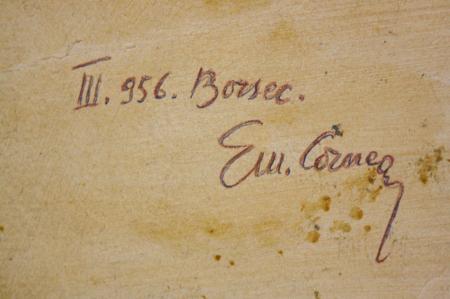 Emil CORNEA, Peisaj din Borsec,1956 [3]