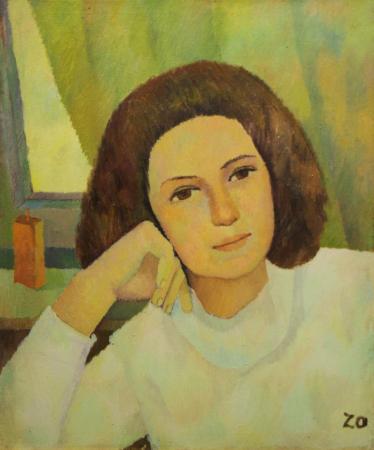 Katy ZOLTÁN, Portret de femeie liniștită0