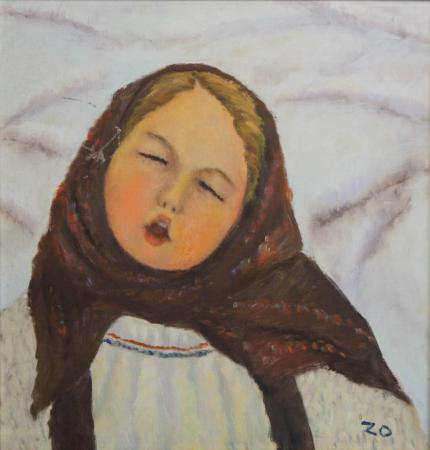 Katy ZOLTÁN, Fetiță cu basma0