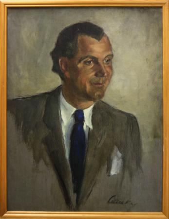 LITTECZKY Endre, Portret de bărbat în costum [2]