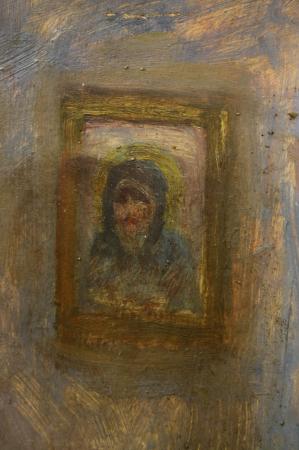 Maria CABADAIEF DRÁGAN, Țărancă din Săliște cosând, 1937 [1]