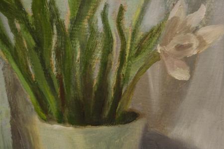 FEKETE Margit, Natură statică cu flori, 1962 [1]