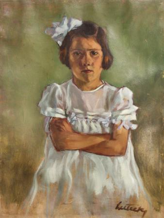 LITTECZKY Endre, Fetiță cu fundiță [0]