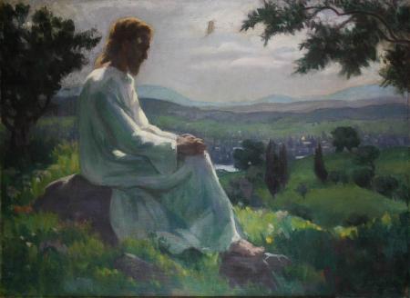 K.CSIKOS Antónia., Isus în grădina Ghetsimani, 1933 [0]