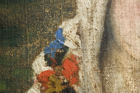 LATINKA Elza, Portret de țărancă cu maramă [1]