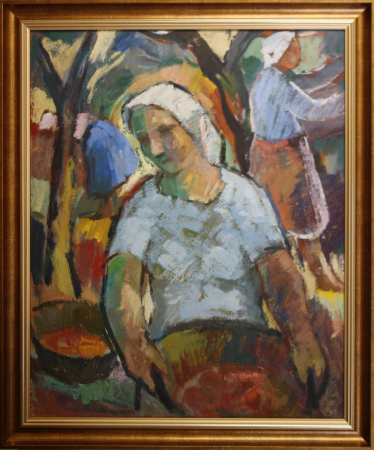 Nicolae CHIRILOVICI, La cules de fructe [2]