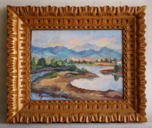 AGRICOLA Lidia, Peisaj pe malul Săsarului4