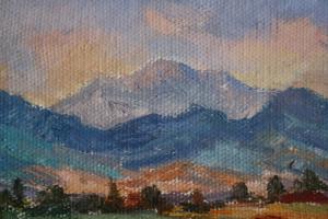 AGRICOLA Lidia, Peisaj pe malul Săsarului1