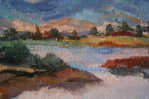 AGRICOLA Lidia, Peisaj pe malul Săsarului2