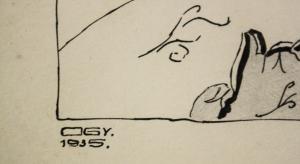 ORIOLD György, Venus și Cupidon, 19353