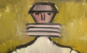 Petre ABRUDAN, Personaj în crinolină galbenă, 19681