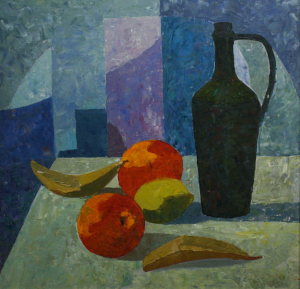 BARTOVICS József, Still Life with Carafe and Fruit0