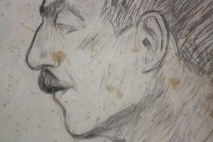 BALOGH Péter, Portretul soției / Portret de bărbat, 19404