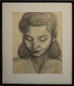 BALOGH Péter, Portretul soției / Portret de bărbat, 19405