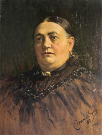 MERÉSZ Gyula, Portrete de burghezi transilvăneni, 1915 - 1917 [1]