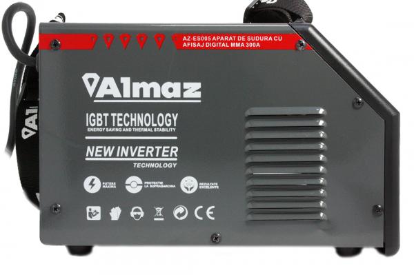 Aparat Sudura ALMAZ MMA 300A ( AZ-ES005 ) + Accesorii , Invertor , Model nou 16