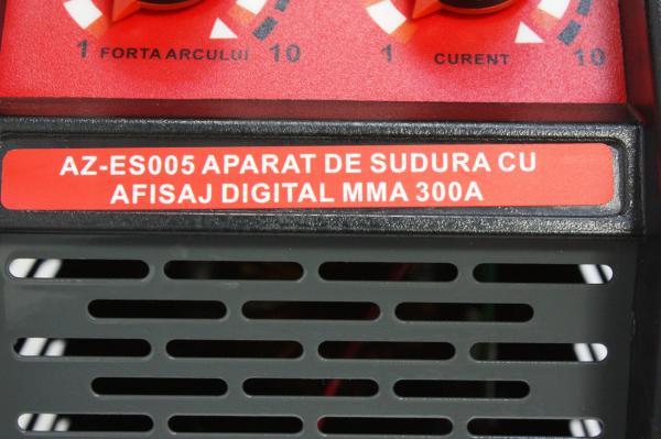 Aparat Sudura ALMAZ MMA 300A ( AZ-ES005 ) + Accesorii , Invertor , Model nou 2