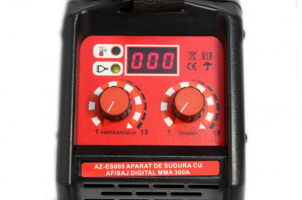 Aparat Sudura ALMAZ MMA 300A ( AZ-ES005 ) + Accesorii , Invertor , Model nou 7