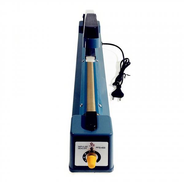 Aparat de lipit si sigilat pungi Impulse Sealer Pfs 400, albastru 4