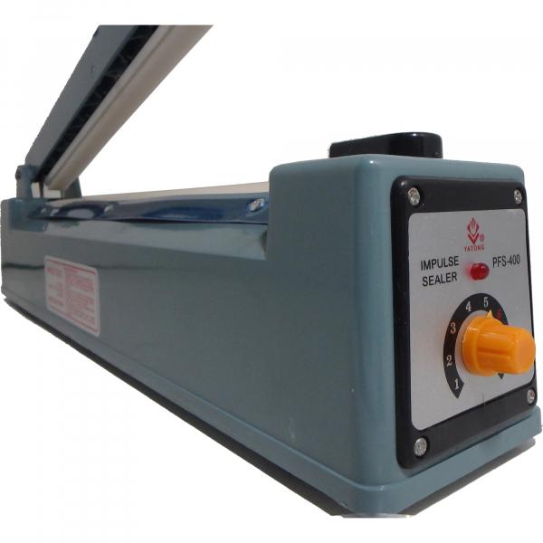 Aparat de lipit si sigilat pungi Impulse Sealer Pfs 400, albastru 6