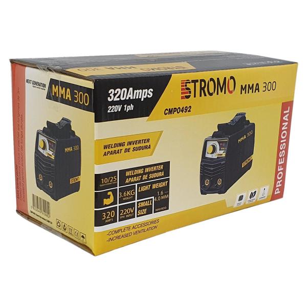 Aparat de sudura ( Invertor ) STROMO MMA 300, Cablu 3m, 320Amps 2