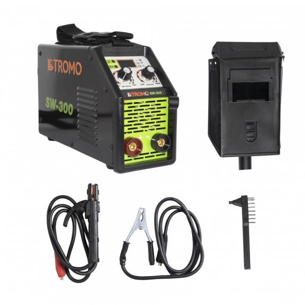 APARAT DE SUDURA INVERTOR STROMO SW300, 300 AH, ACCESORII INCLUSE, ELECTROD 1.5-5MM 0
