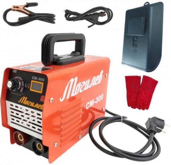 APARAT DE SUDURA TIP INVERTOR 300A, MOGILEV+PALMARI PIELE, ELECTROD 1.6-4MM 0