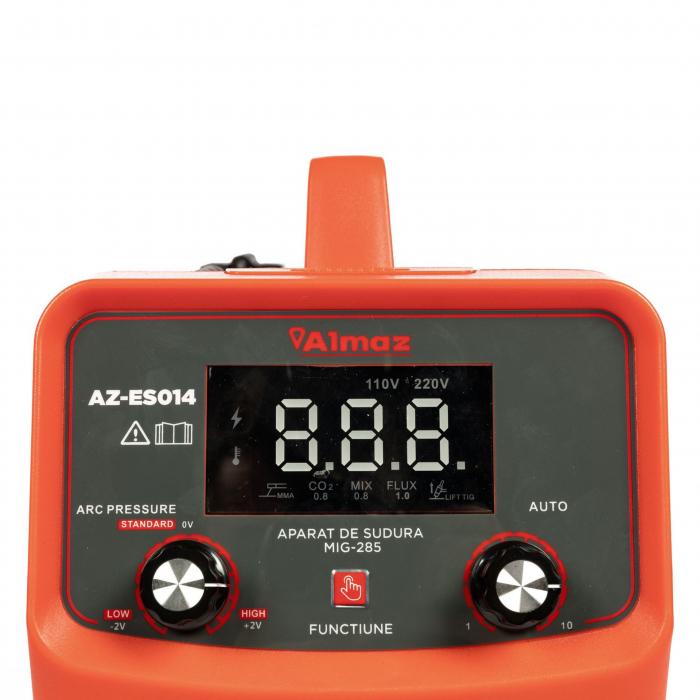 Aparat de sudura MIG / MMA MIG-285, 285A Almaz AZ-ES014, diametru electrod 1.6 - 3.2mm [6]