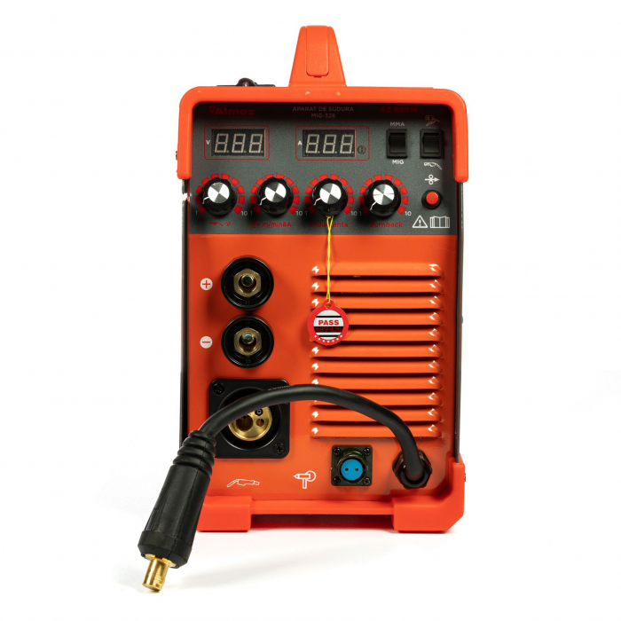 Aparat de sudura MIG / MMA MIG-328, 328A Almaz AZ-ES016, diametru electrod 1.6 - 4mm [3]