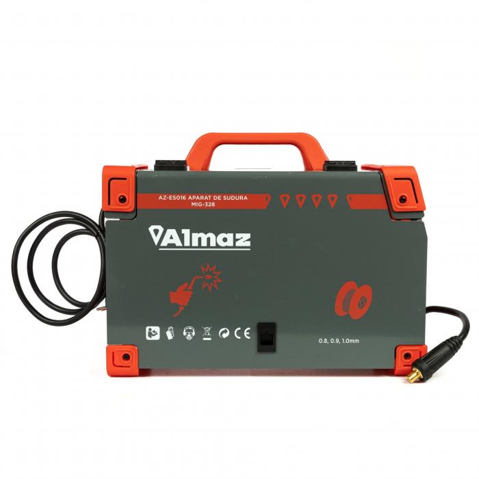 Aparat de sudura MIG / MMA MIG-328, 328A Almaz AZ-ES016, diametru electrod 1.6 - 4mm [4]
