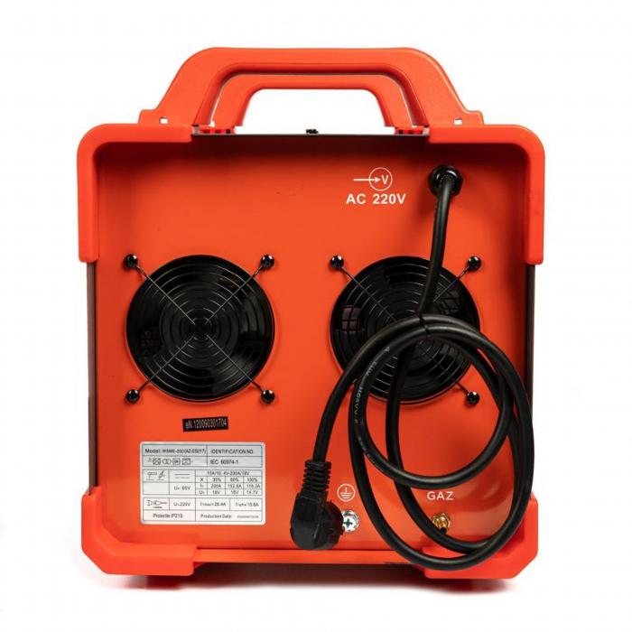 Aparat de sudura TIG / MMA WSME-200, 200A Almaz AZ-ES017, diametru electrod 1.6 - 4mm [4]