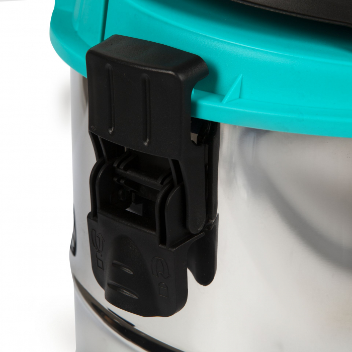 Aspirator umed / uscat Detoolz 1250W, Inox, 25L 2